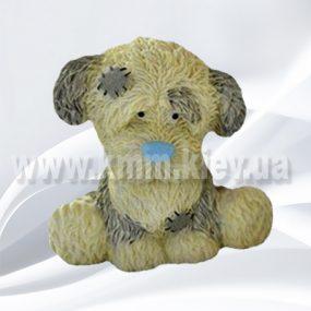 Голубой щенок 3D