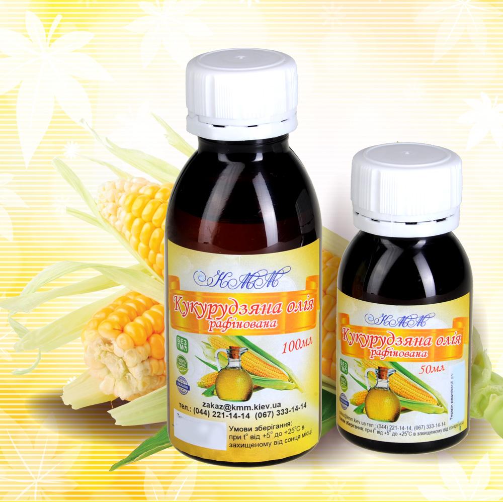 Кукурузное масло рафинированное