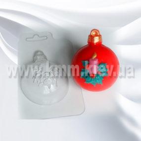 Пластиковая форма Шар Свеча