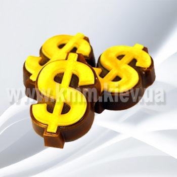 Пластиковая форма Знак доллара