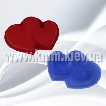 """форма """"Сердце двойное"""""""
