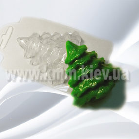 Пластиковая форма Елка 1