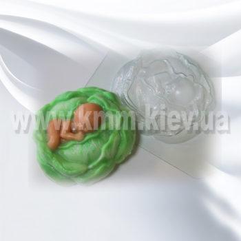 Пластиковая форма Ребенок в капусте