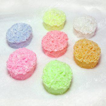Мыло ручной работы Корзина цветов