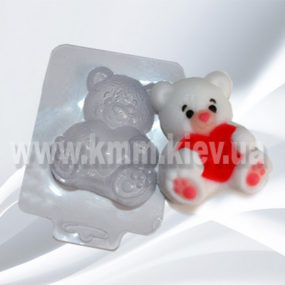 Пластиковая форма Медведь