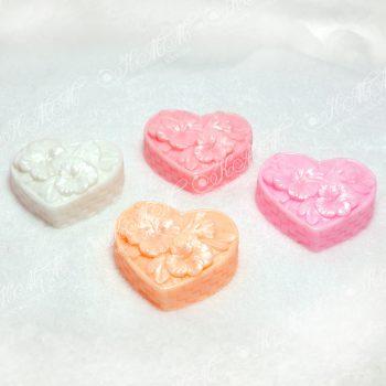Мыло Сердечко цветов