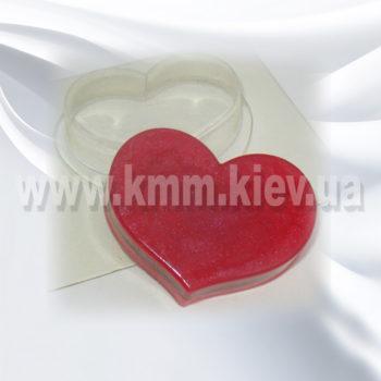 Пластиковая форма Сердце 1