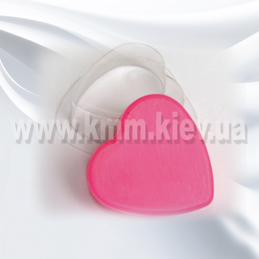 Пластиковая форма Сердце 2