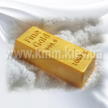Пластиковая форма Слиток золота