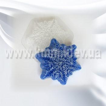 Пластиковая форма Снежинка 1