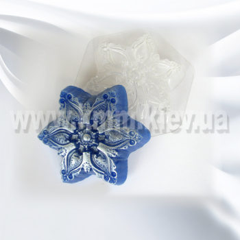 Пластиковая форма Снежинка 2