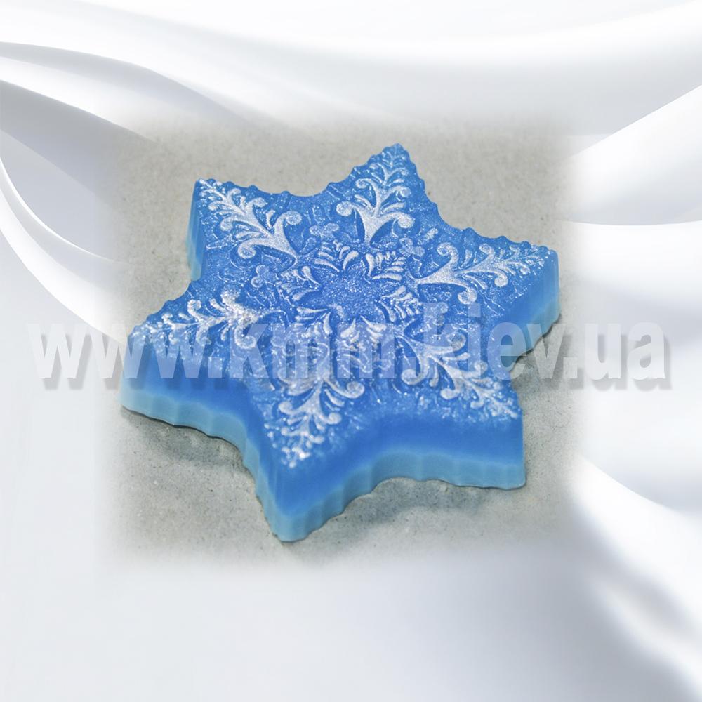 Пластиковая форма Снежинка 3