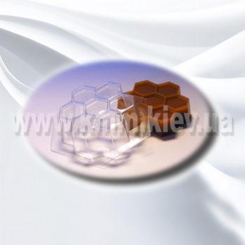 Пластиковая форма Пчелиные соты