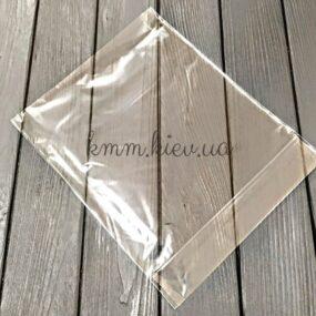 пакет прозрачный с дном