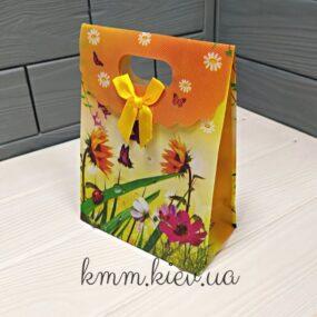 Пакет Летние цветы на липучке 160ммх125мм