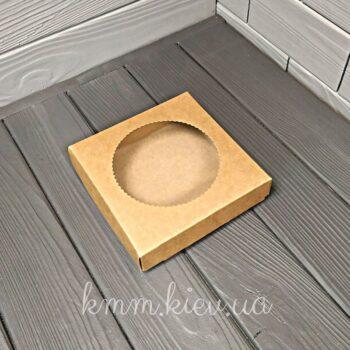 Коробка с круглым окном