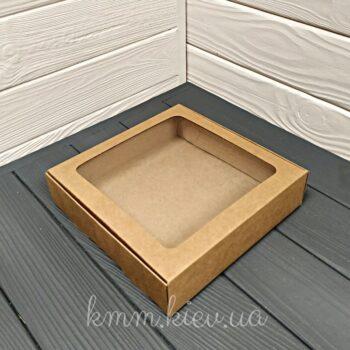 Коробка с окном большая квадратная