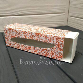 Коробка для макаронс 175ммх60ммх50мм в ассортименте