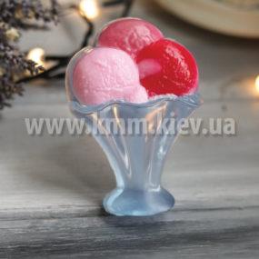 Пластиковая форма мороженое шарики в креманке