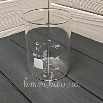 Стакан мерный стеклянный низкий 300мл