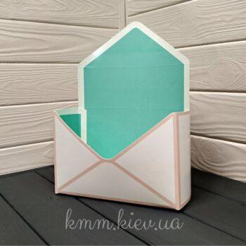 коробка-конверт тиффани