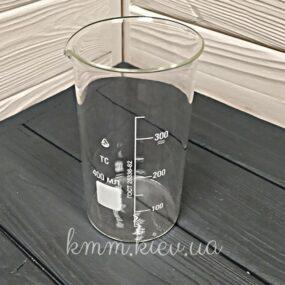 Стакан мерный стеклянный высокий 400мл