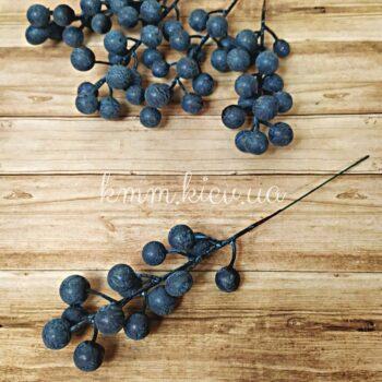 Ягоды на ветке синие
