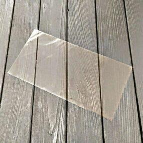 Пакет прозрачный узкий
