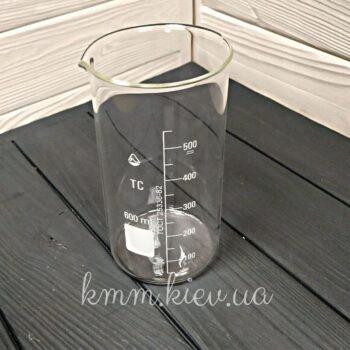 Стакан мерный стеклянный высокий 600мл