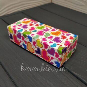 Коробка Love для макаронс 140х100х53