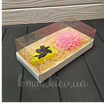 Коробка аквариум Белая в ассортименте