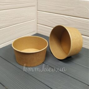 Салатник круглый крафт 1000 мл