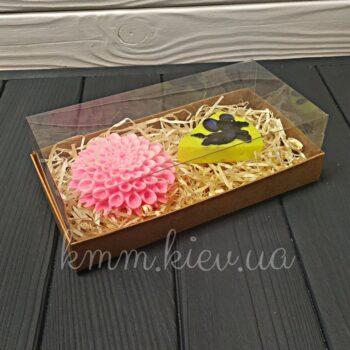 Коробка аквариум Крафт в ассортименте