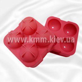 силиконовая форма шар 3Д