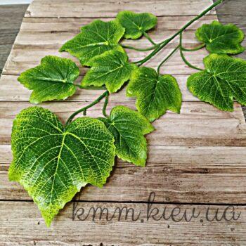 Декоративная ветка листьев Винограда
