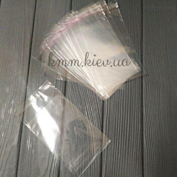 Пакет прозрачный с клейкой лентой малый