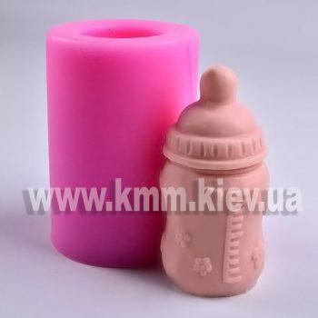Бутылочка для младенца 3D