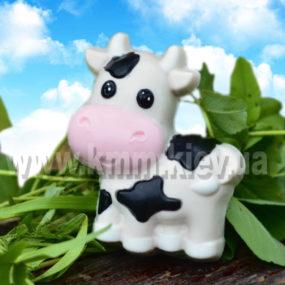 корова пластиковая форма, коровка