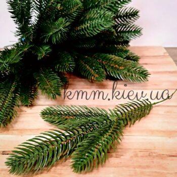Декоративная ветвь ели Зеленая 3 вет Польша