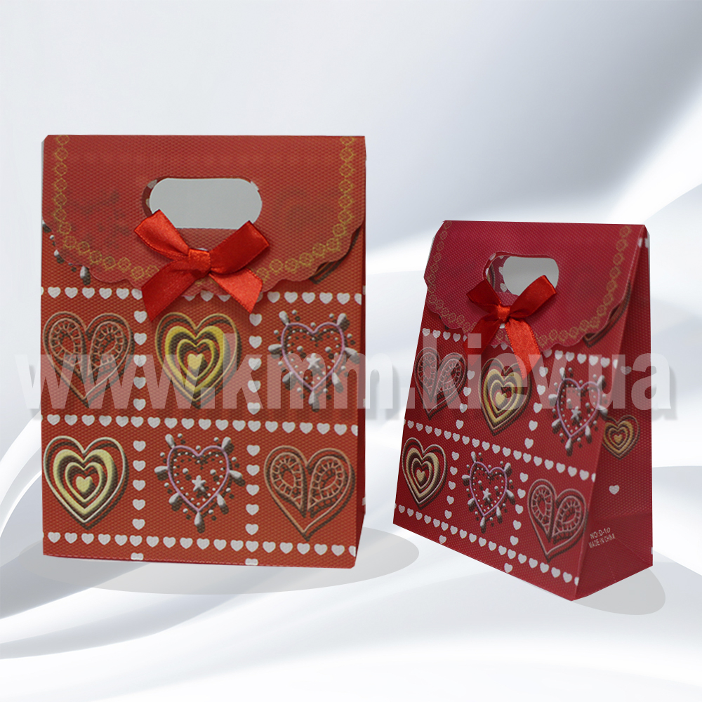 Пакет Кружевное сердце
