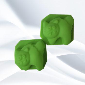 котт пугливый силиконовая форма