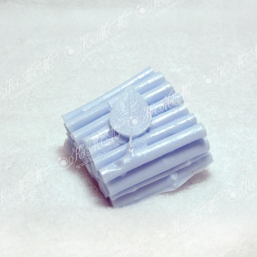 Мыло ручной работы Листик на дровах