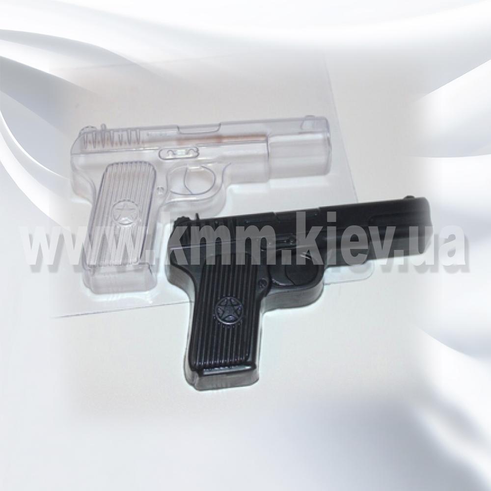 Пластиковая форма Пистолет