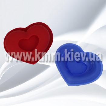"""форма """"Сердце рельефное"""""""